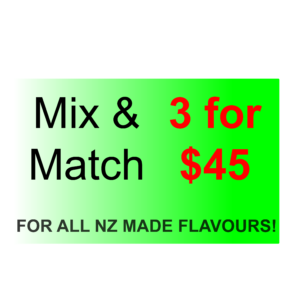 3x30ml for $45!